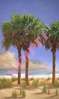 Palmetto Trio by William Carl Bell